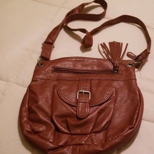 Charlotte Russe brown crossbody